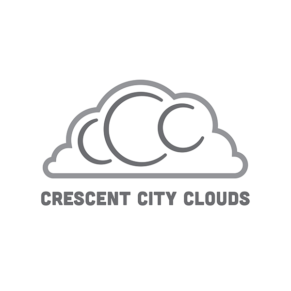 Crescent City Clouds Identity